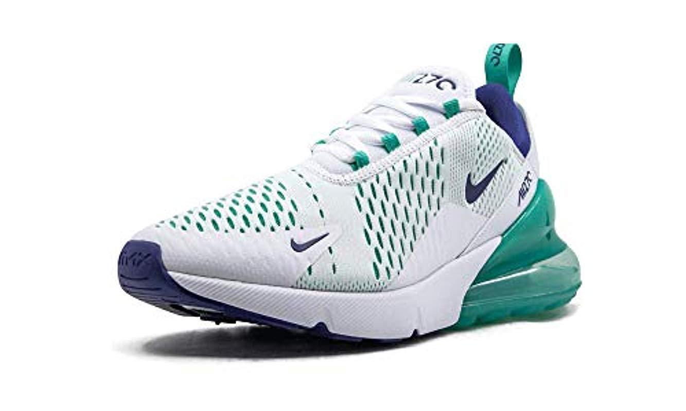 Air Max 270 (White/Hyper Jade, 12) Nike pour homme