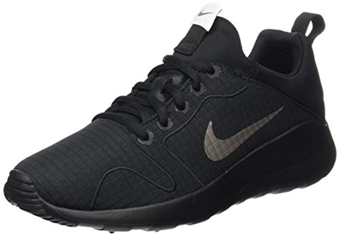 the latest 66c99 62c22 Nike  s Wmns Kaishi 2.0 Prem Trainers in Black - Lyst