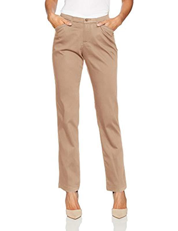 b03c55e5e2b Lyst - Lee Jeans Flex Motion Regular Fit Straight Leg Pant