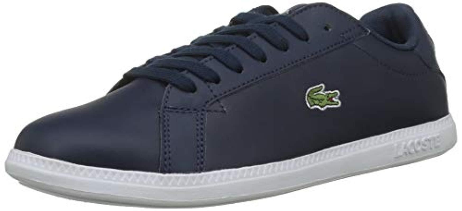 ab90d5573 Lacoste Graduate Bl 1 Sfa Trainers in Blue - Save 12% - Lyst