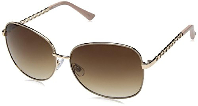 a8fe4980ec1 Lyst - Sam Edelman Union Bay U543 Gldtp Oval Sunglasses in Metallic
