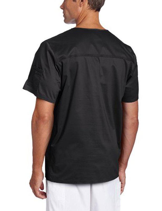 34e675350b7 Lyst - Dickies Big & Tall Gen Flex Solid Stitch V-neck in Black for Men -  Save 4%