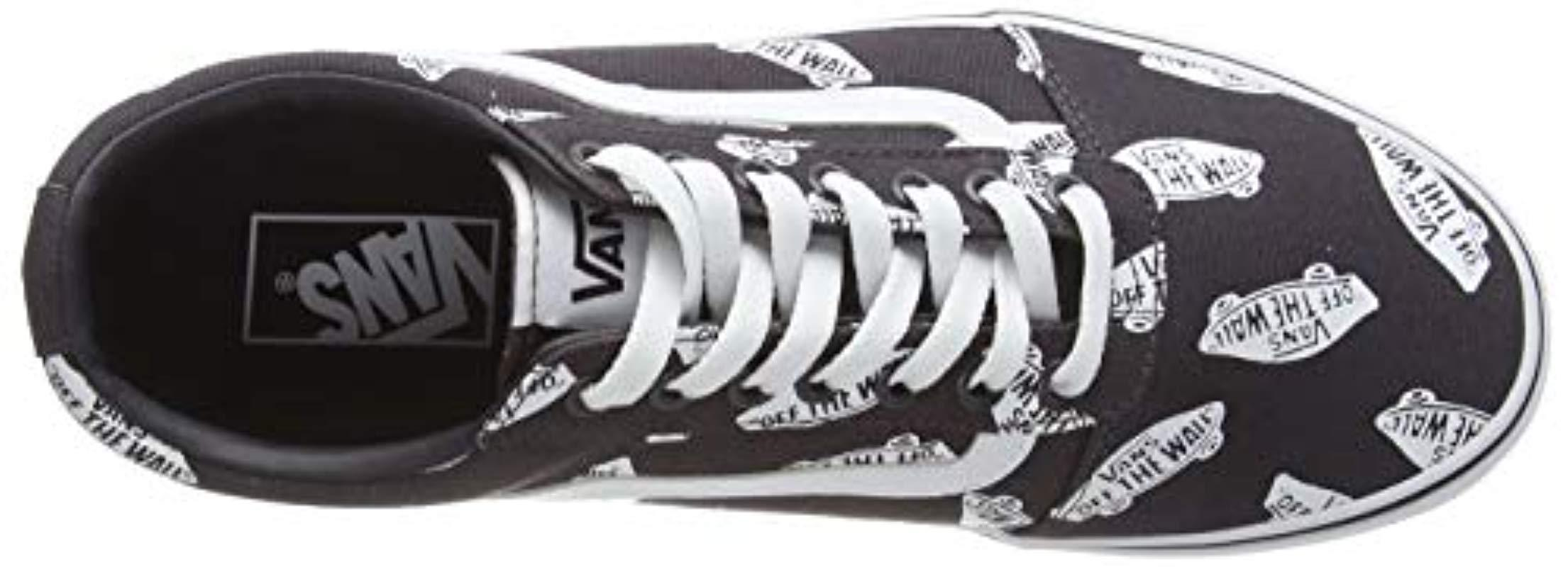 Ward Suede/Canvas, Zapatillas para Hombre Vans de hombre de color Negro