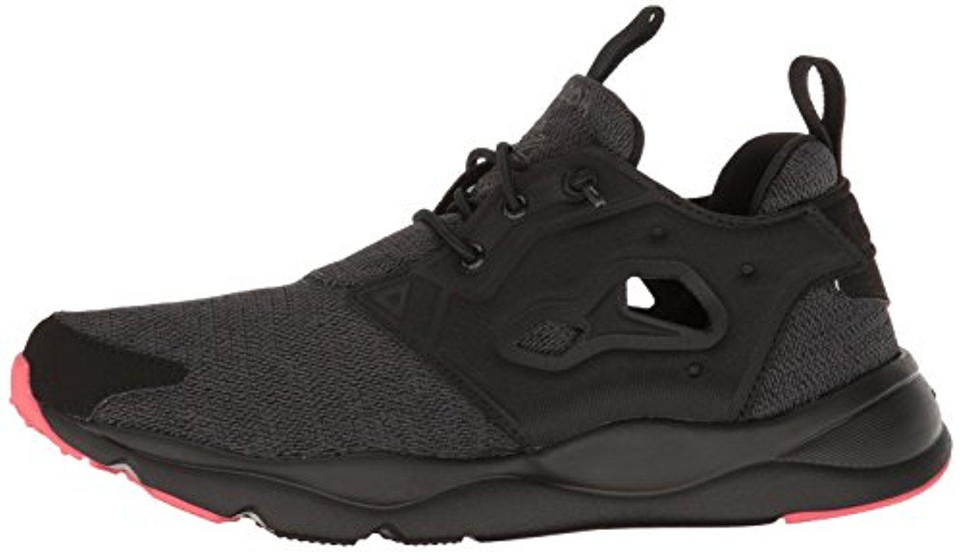 Furylite Sole Running Shoe in Black