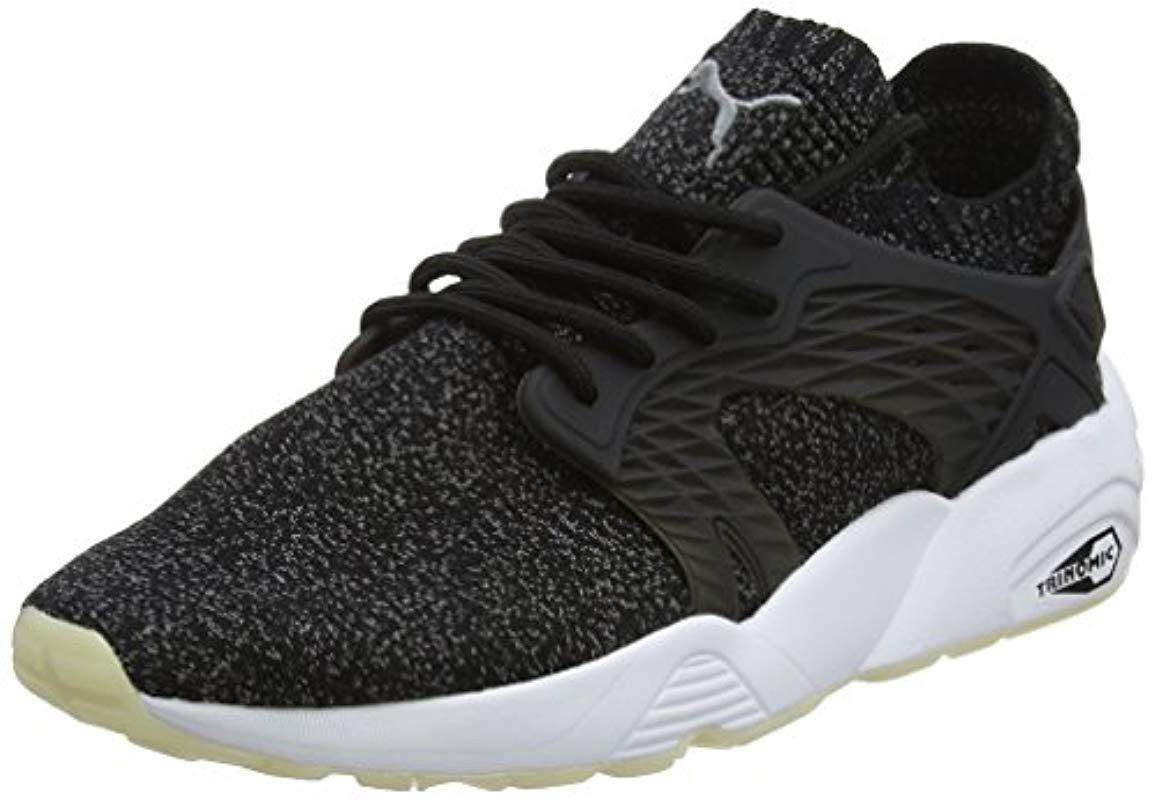 08184eb608c053 Puma Unisex Adults  Blaze Cage Evoknit Low-top Sneakers in Black for ...