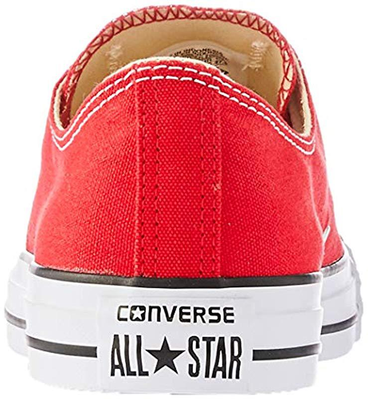 c7a2b99f8b26 Converse Unisex s M9696c Sneakers in Red - Save 46.03174603174603 ...