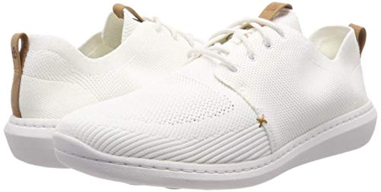 Step Urban Mix, Zapatillas para Hombre Clarks de hombre de color Blanco