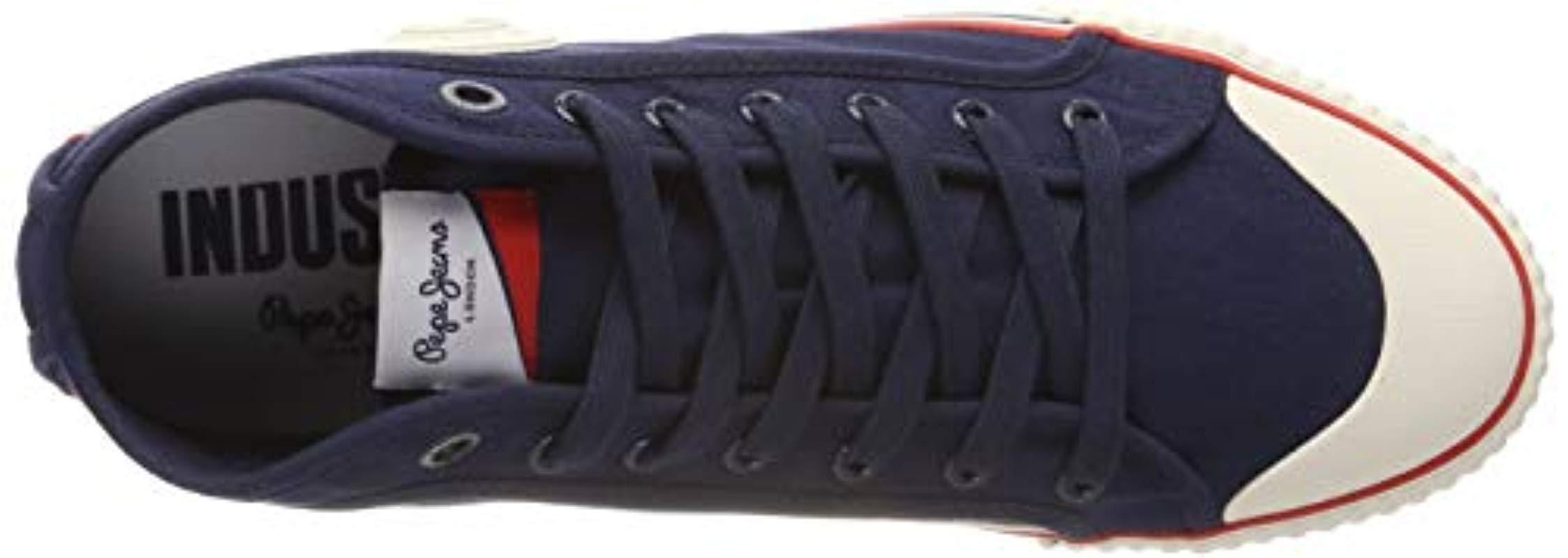 Industry Basic, Zapatillas para Hombre Pepe Jeans de Denim de color Azul para hombre
