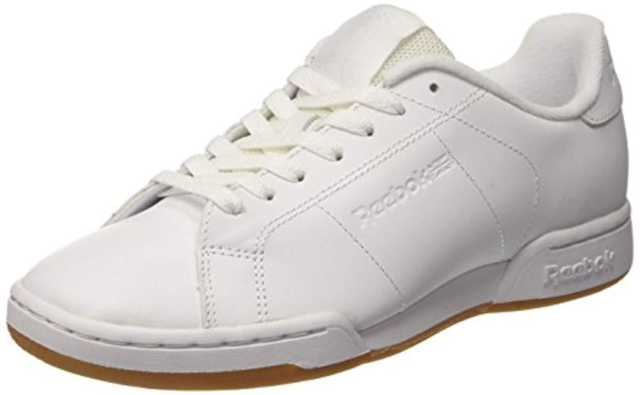 2a60543f088 Reebok Npc Ii Tg Gymnastics Shoes in White for Men - Lyst