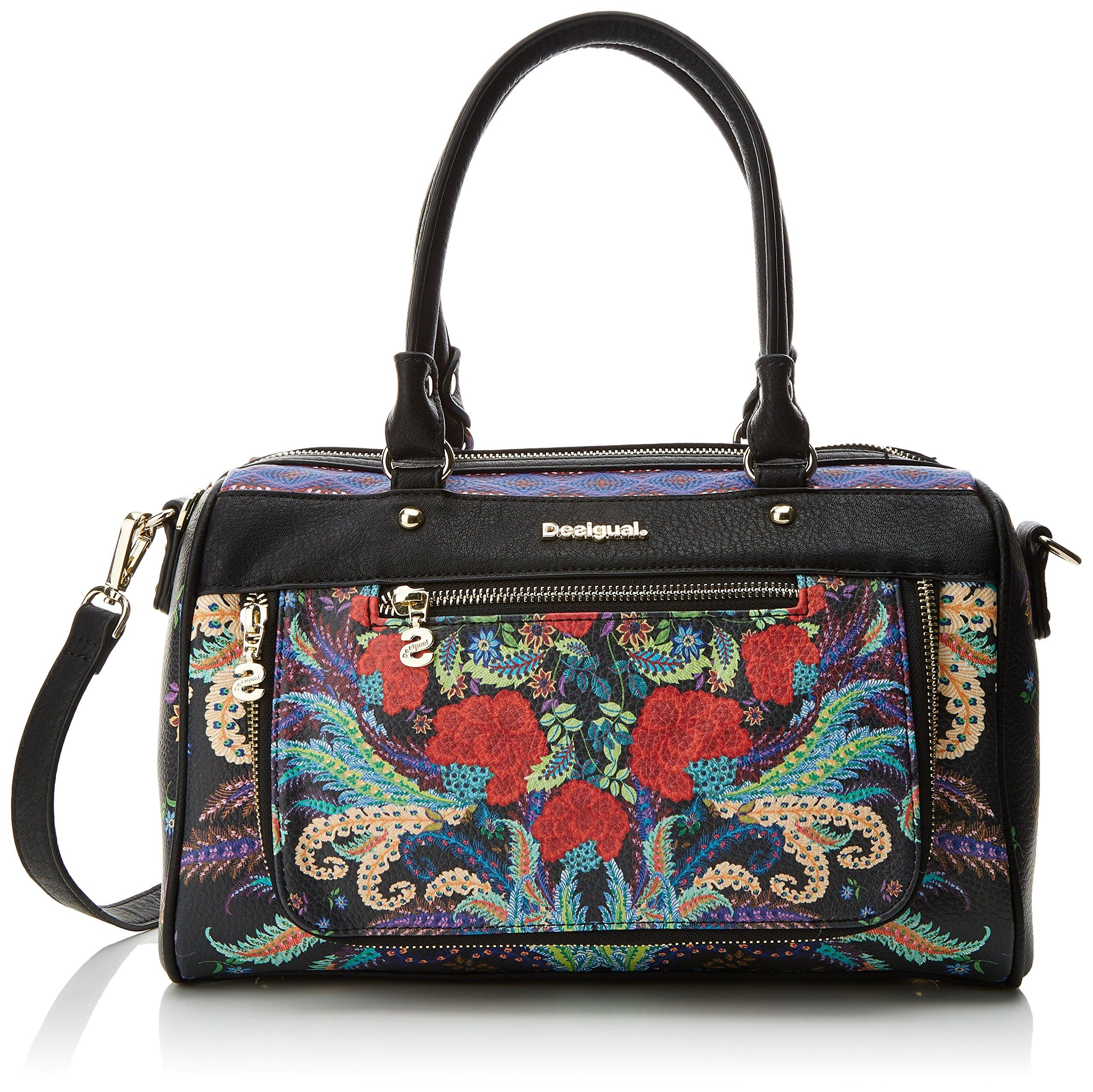 Desigual Helios Verona Shoulder Bag Schultertasche Tasche Coral Beige Neu