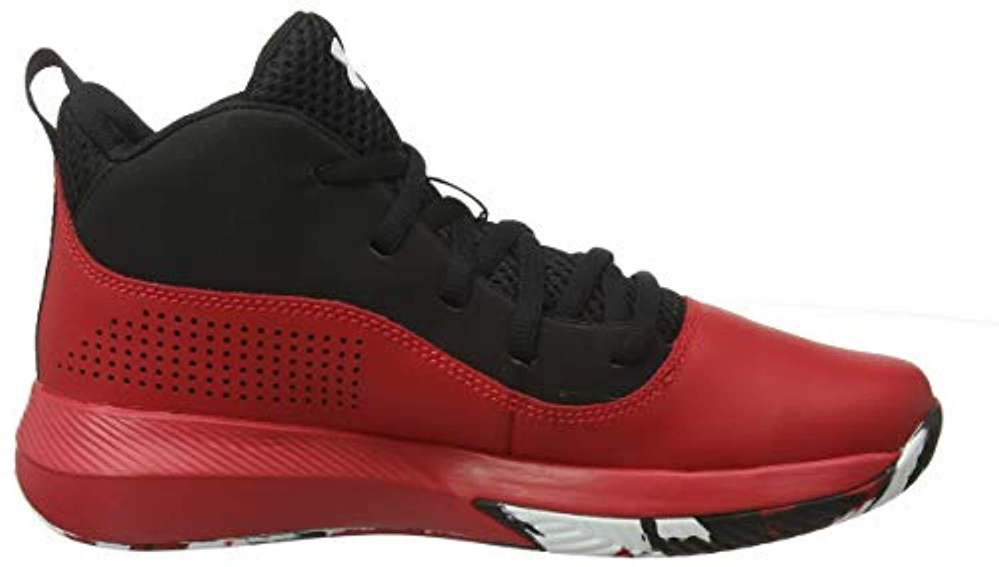Under Armour GS Lockdown 4 Zapatos de Baloncesto Unisex Adulto