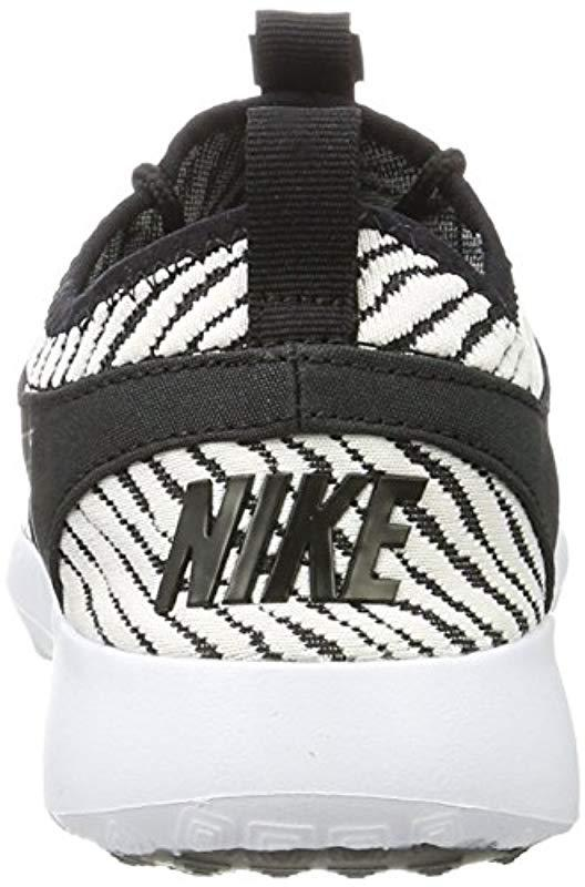 buy popular f65d3 6bbd0 nike-Black-Black-white-Wmns-Juvenate-Se-Gymnastics-Shoes -black-white-55-Uk.jpeg