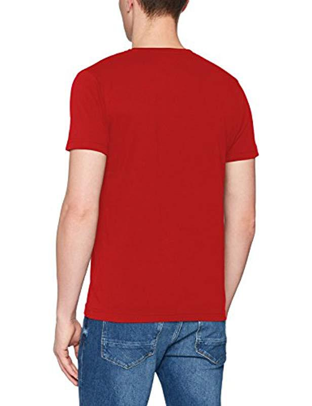 3840fad5 Tommy Hilfiger Wcc Allen C-nk Tee S/s Rf T-shirt in Red for Men - Lyst