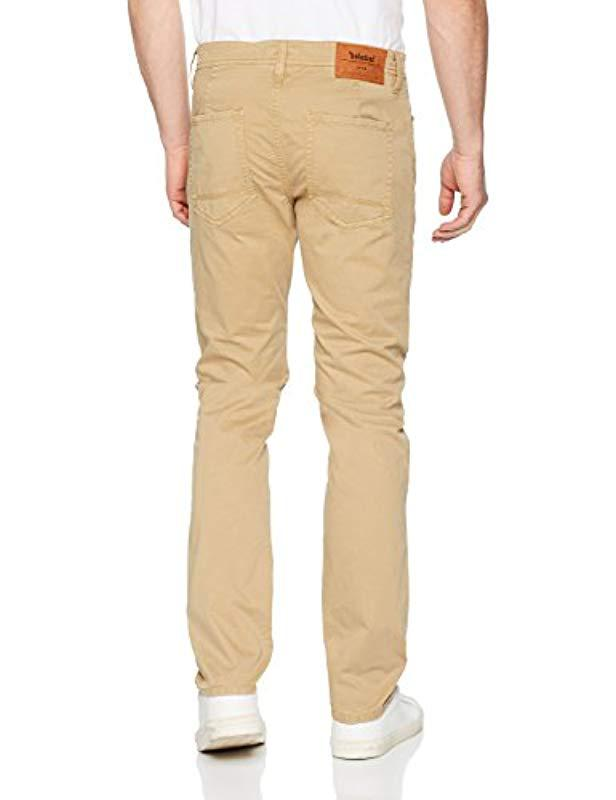 f67073326bd Men's Natural Sargent Lake Stretch Twill Slim 5pkt Trouser
