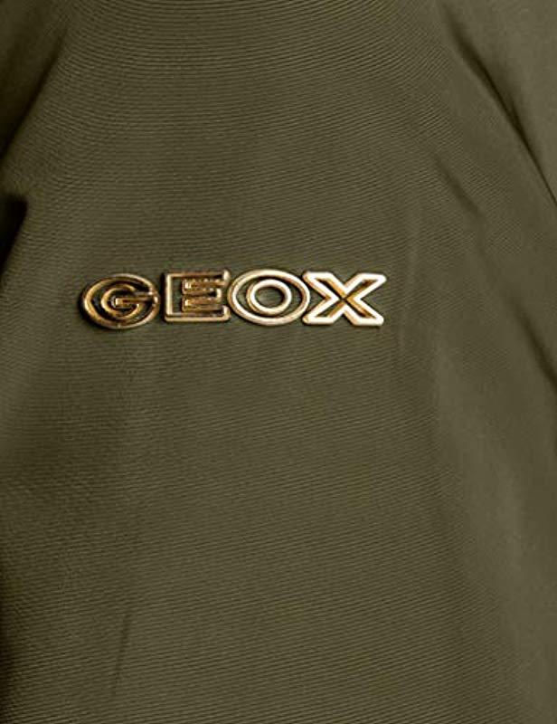 Geox W Airell Giacca Donna
