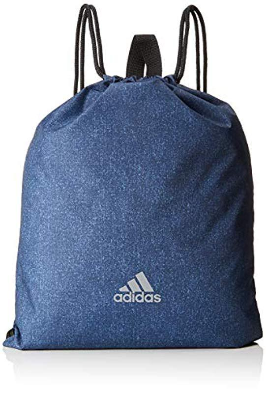adidas Synthetic Performance Running Gym Bag In Blue for Men
