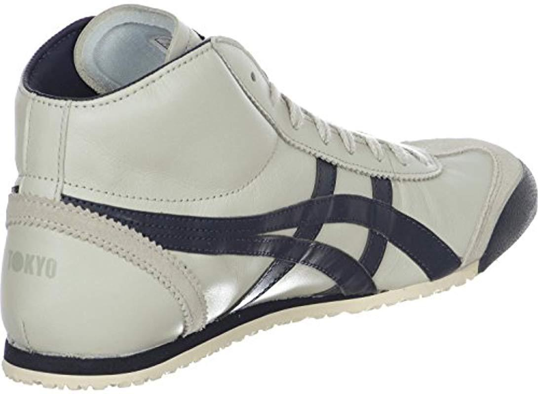 new product e248a 4b7a9 Asics Onitsuka Tiger Mexico Mid Runner Sneaker in Beige ...