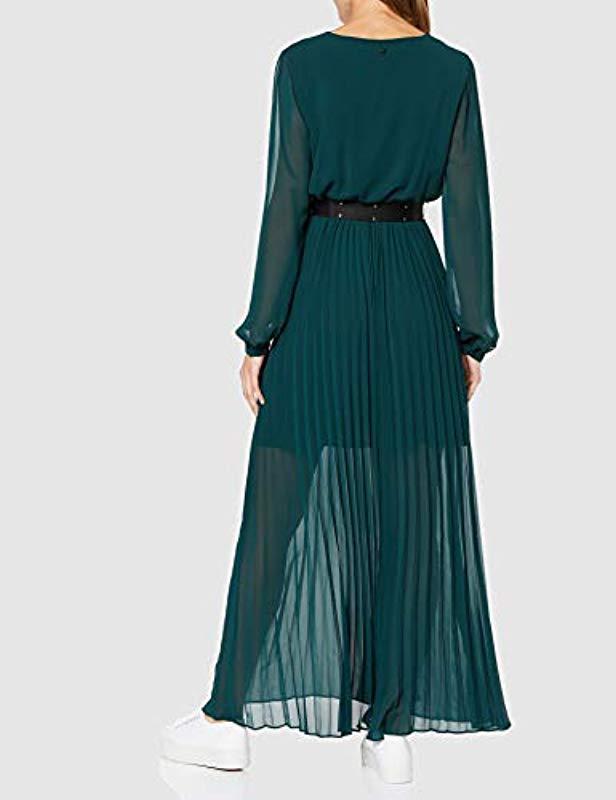 Maya Dress Vestido de Fiesta para Mujer Guess de color Verde