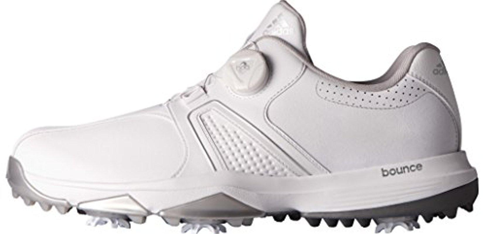 detailed look 503ba ab969 Lyst - Adidas 360 Traxion Boa Golf Shoe in White for Men