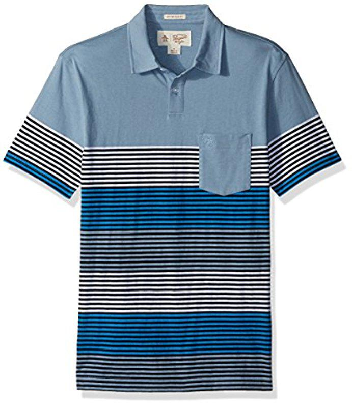Original Penguin Engineered Rugby Stripe Polo Buy Online With Paypal Factory Outlet Cheap Online Really Cheap Online Buy Cheap Browse Sale 2018 New 7NCIDQk0tq