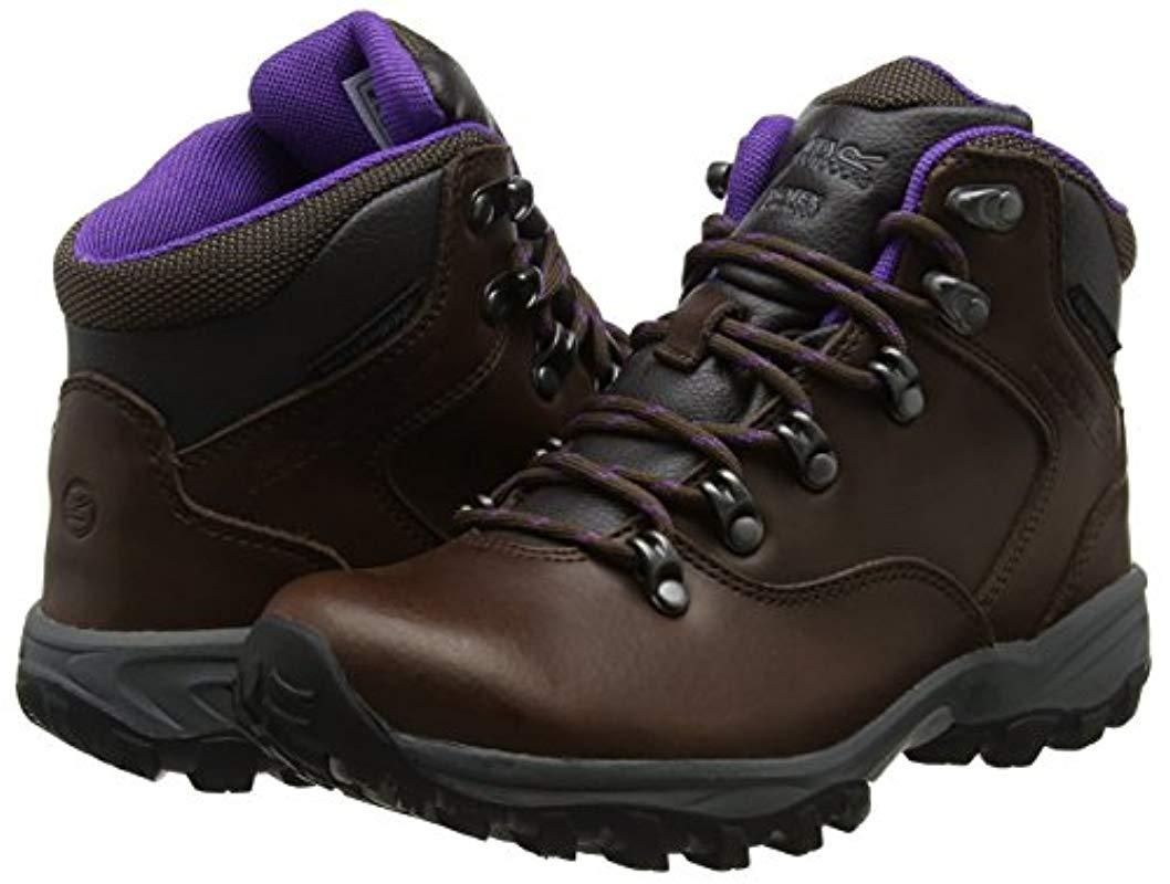 Regatta Womens//Ladies Lady Bainsford Waterproof Leather Walking Boots