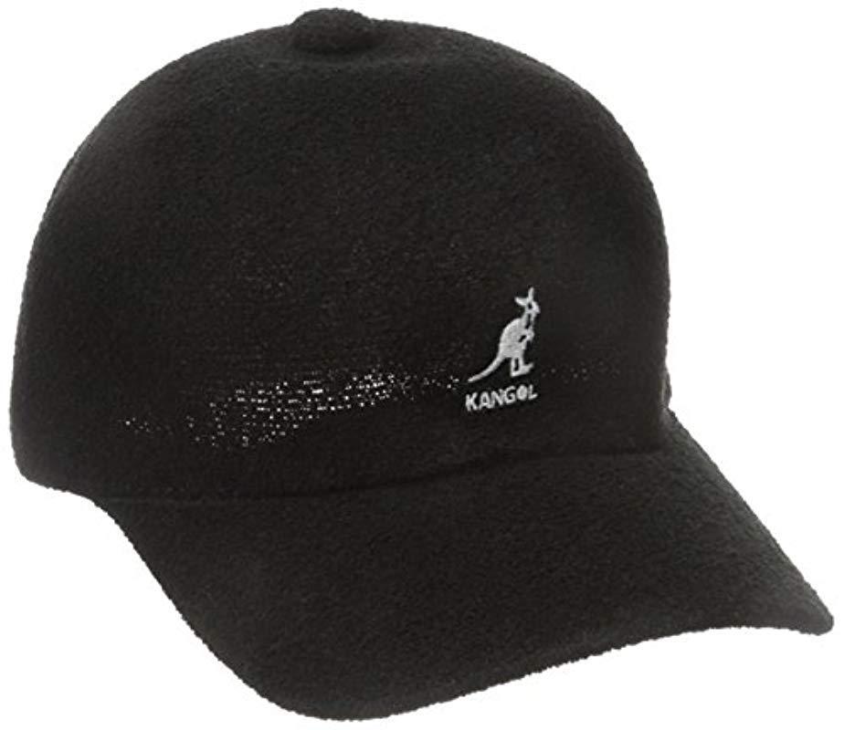 2c692cb7a72 Kangol - Black Bermuda Spacecap for Men - Lyst. View fullscreen