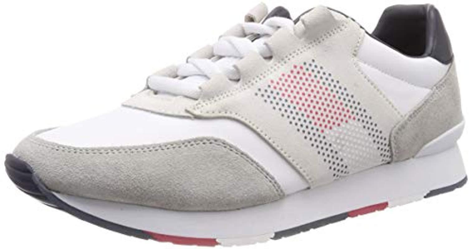 389bb3fb Tommy Hilfiger Corporate Material Mix Runner, 's Low-top Sneakers in ...