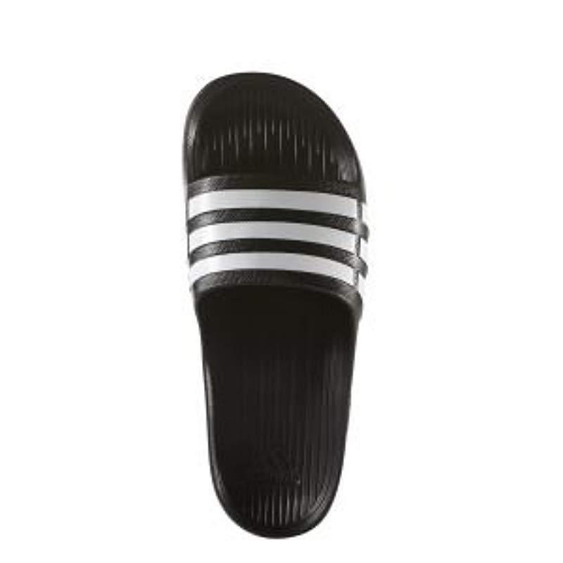 deaf3403dd3d5 Adidas - Black Duramo Slide
