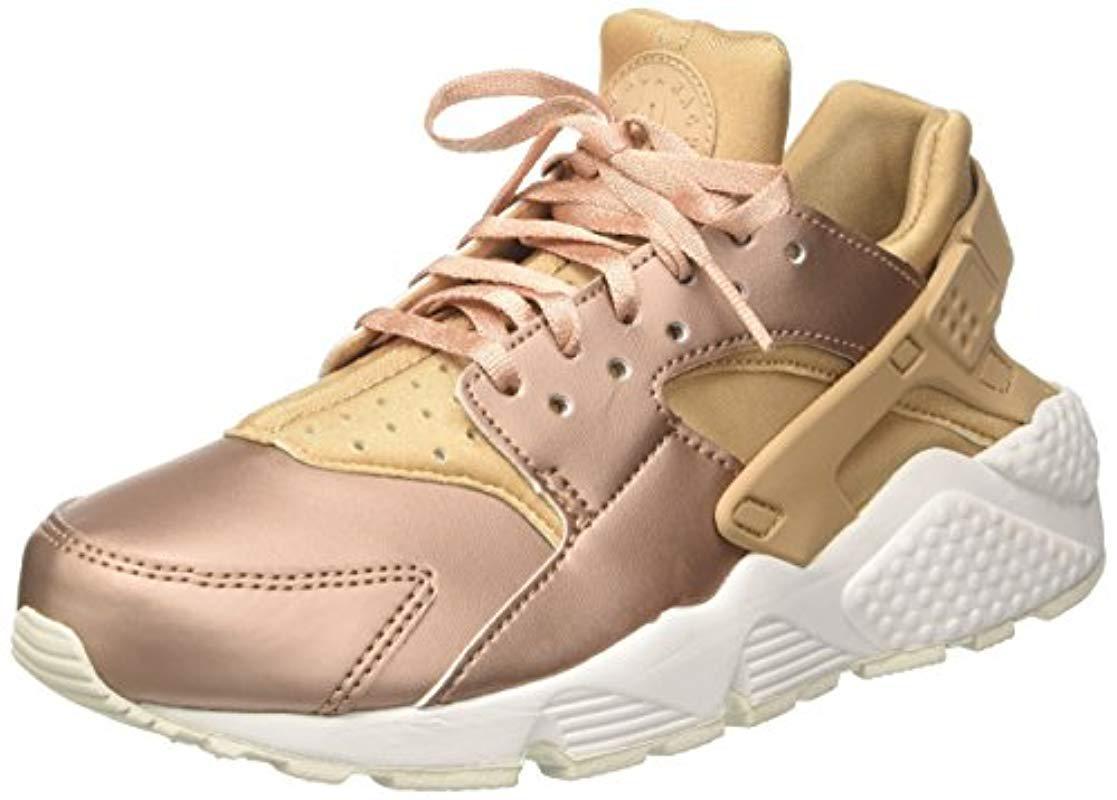 fb9cd174232 Nike  s Air Huarache Run Prm Txt Gymnastics Shoes in Metallic - Lyst