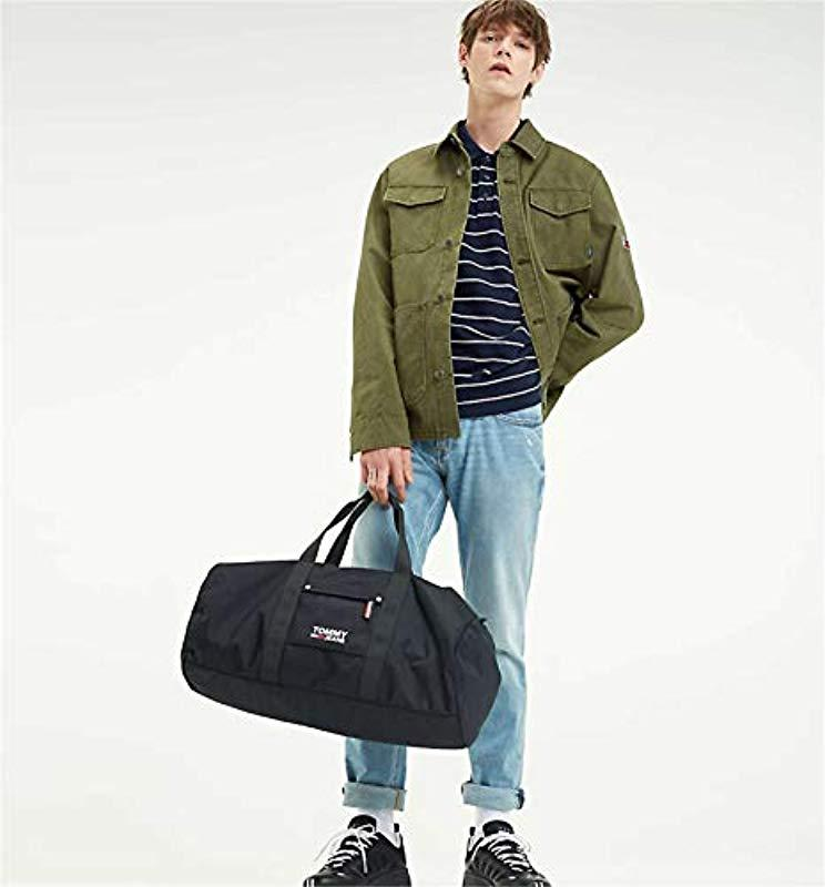 b3c74403 Tommy Hilfiger Tommy Jeans Tjm Cool City Duffle Travel Bags Men ...