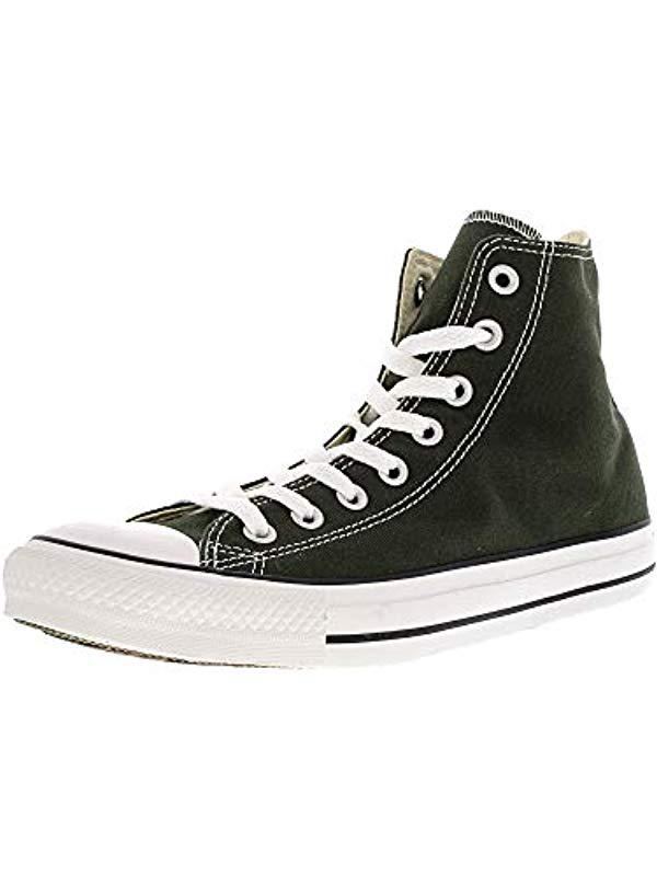 975672e87435 Lyst - Converse Chuck Taylor All Star Core Hi in Green for Men