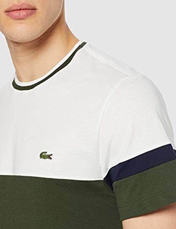371f15c441 Lyst - Th4238, Camiseta Hombre, Verde (Caprier/Farine-Marine 9mx ...