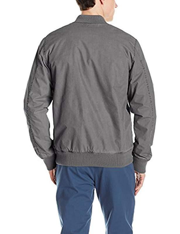 Quiksilver Cotton Delta Deal Jacket in Black for Men