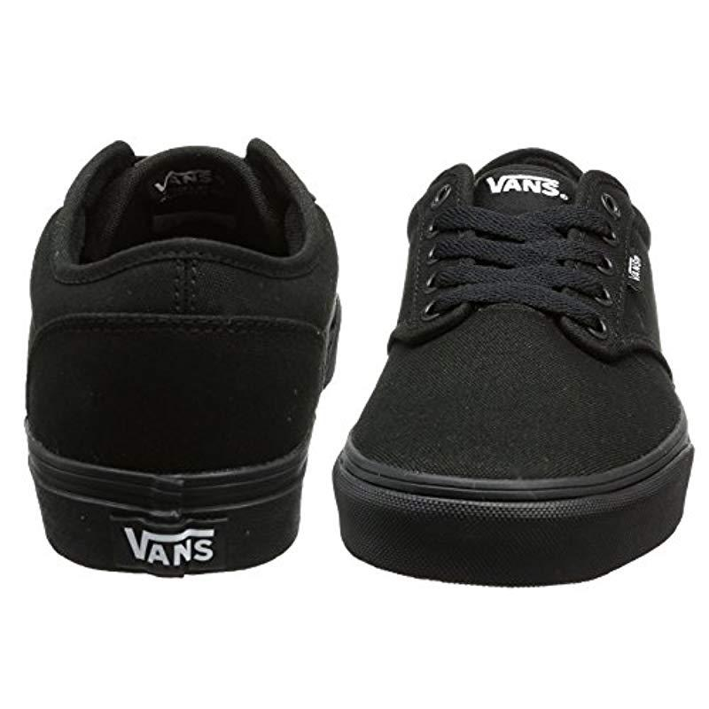 Vans - Black Unisex Adults  Atwood Canvas Skateboarding Shoes for Men -  Lyst. View fullscreen 32f7f43e3