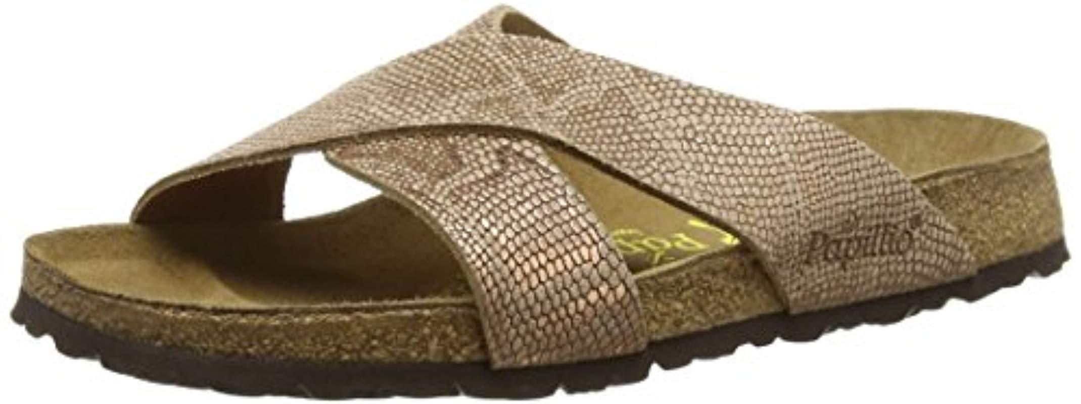 Birkenstock Daytona Leder Heels Sandals in Brown - Lyst 68727b86019