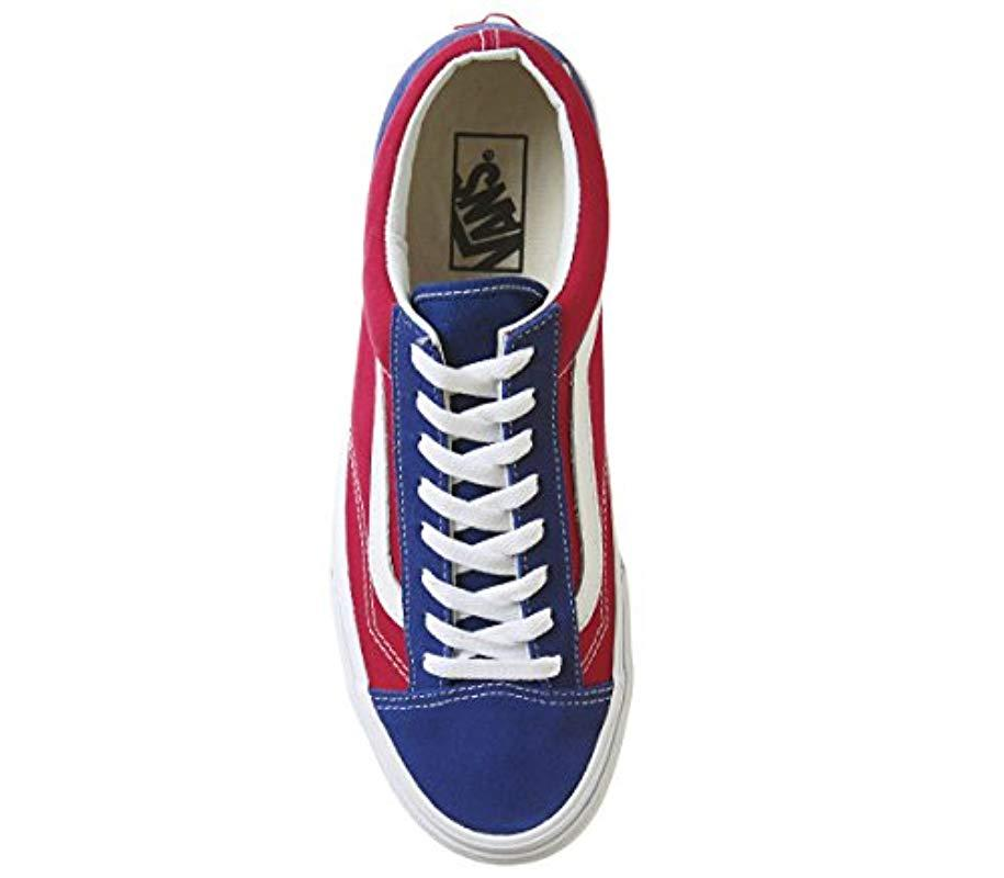 Vans Canvas Style 36 Trainers in Blue for Men