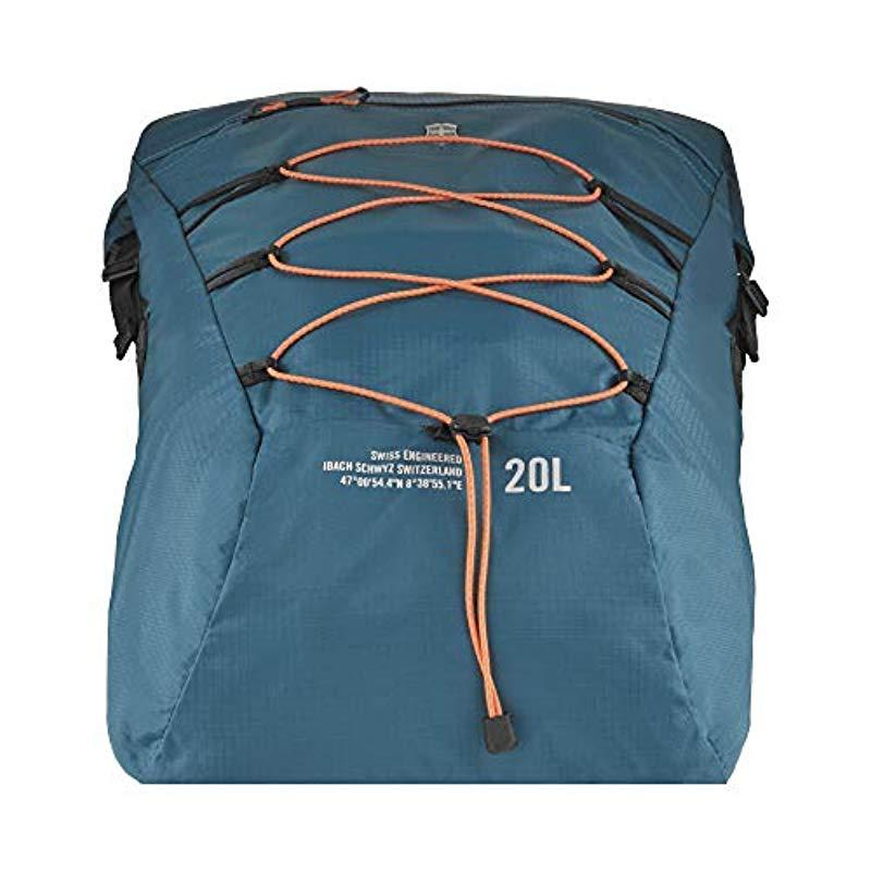 differently factory outlets wholesale outlet Victorinox Altmont Active Lightweight Rolltop Backpack in Blue for ...