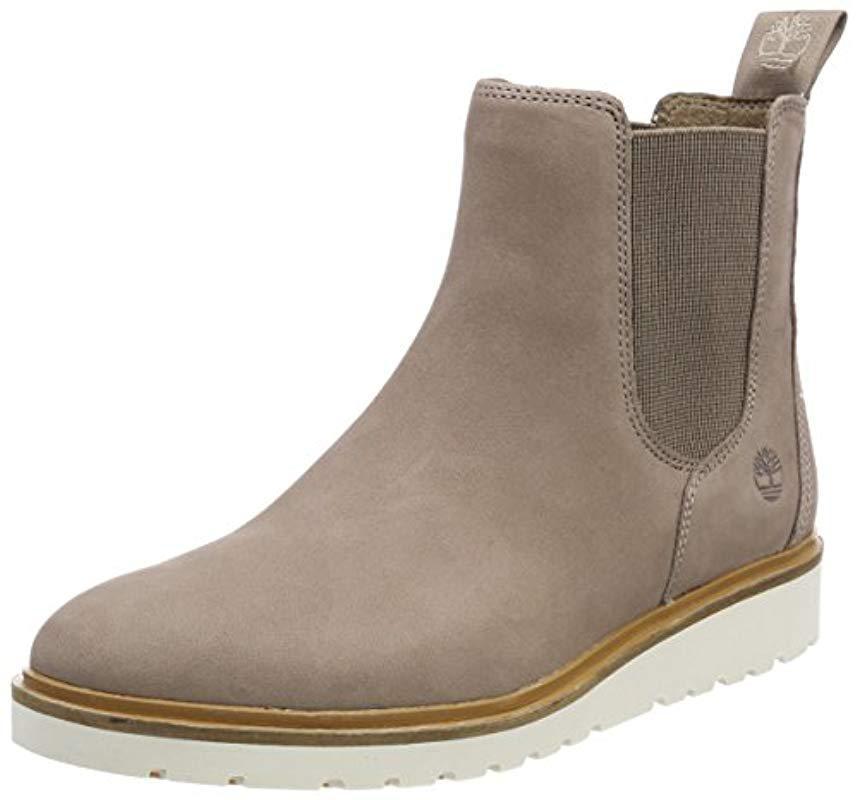 Timberland Ellis Street Chukka Boots in Gray Lyst