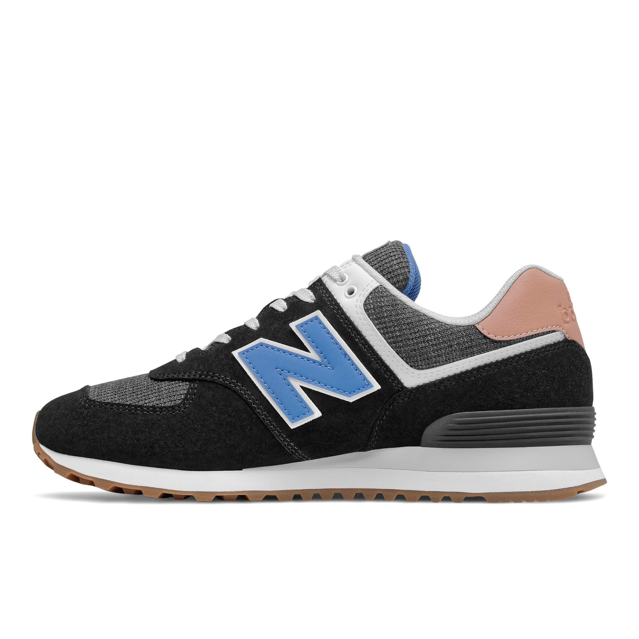 New Balance Iconic 574 V2 Track & Field Shoes in Black/Faded ...