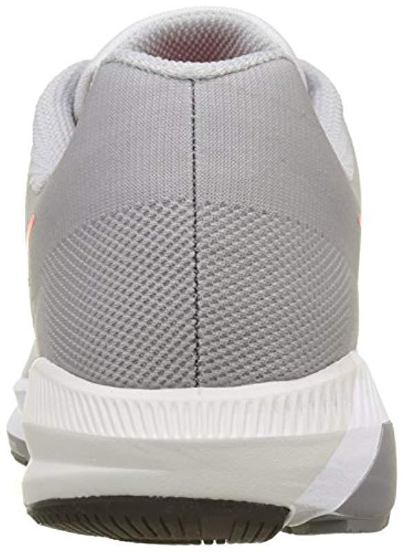 dd74efce5ed Nike - Gray Air Zoom Structure 21 Running Shoes for Men - Lyst. View  fullscreen