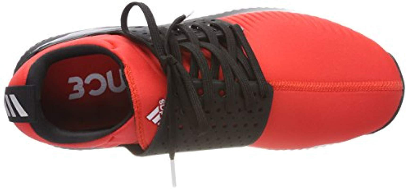 new concept 4b725 6efb4 Adidas - Red Adicross Bounce-textile Golf Shoes for Men - Lyst. View  fullscreen