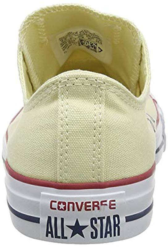 3fa641e4140c Converse Unisex Adults  M9165 Sneakers in White for Men - Save ...