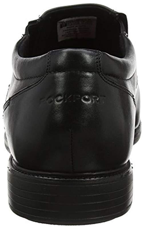 Rockport Charles Road Slip-on Black Leather 8.5 W for Men - Save 52%