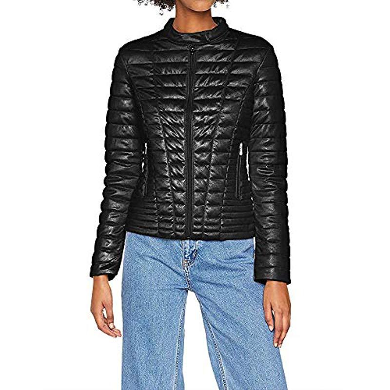 053b74a86055 Guess Spolverino Vona Jacket Bomber in Black - Save ...