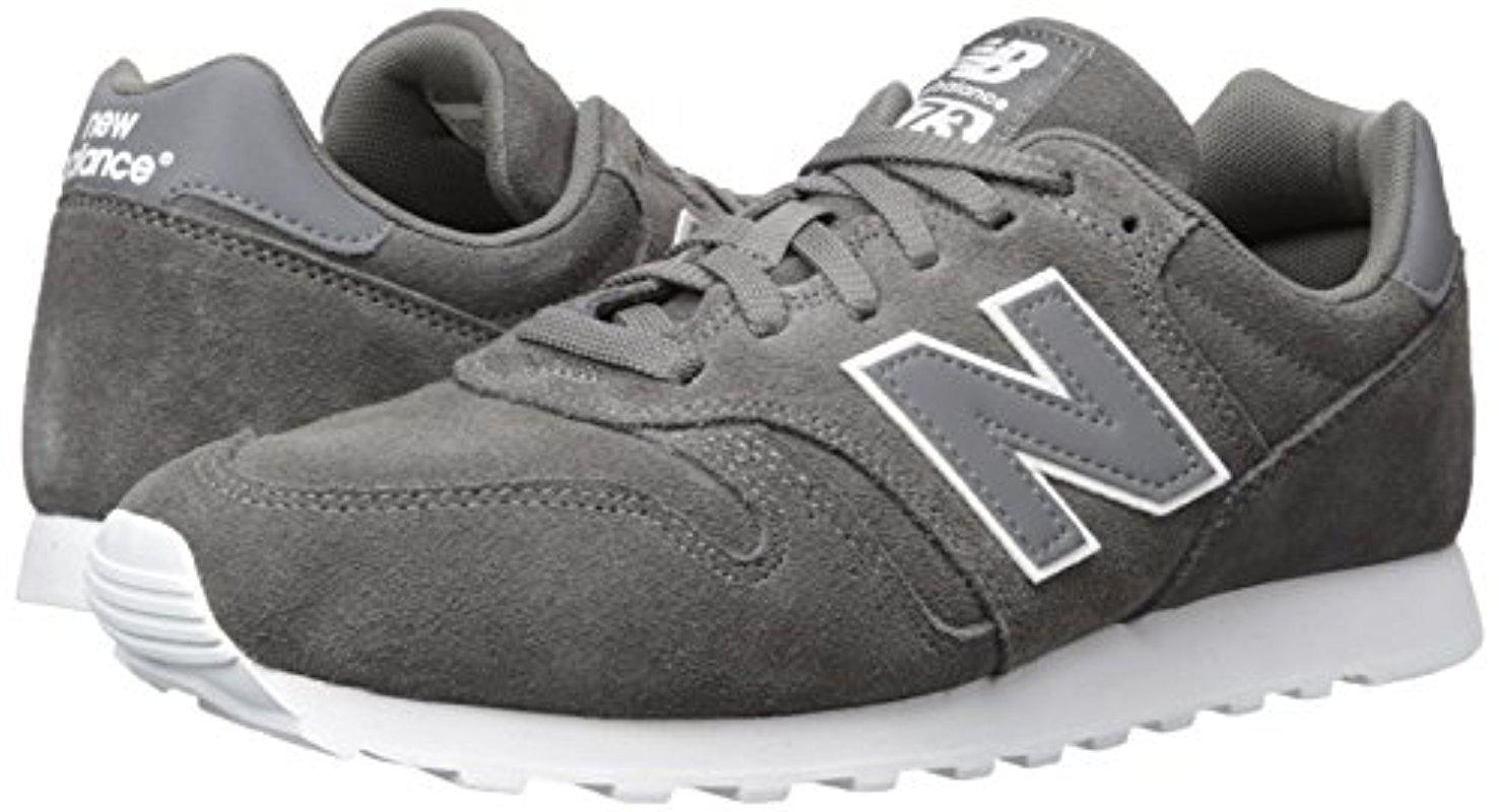 New Balance Suede 373 Trainers in Grey