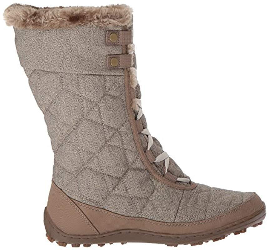 Columbia Minx Mid Alta Omni-heat Snow Boot in Brown