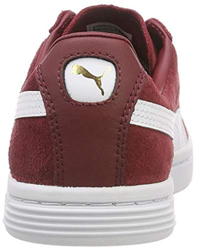 7aa110dfc64 PUMA Unisex Adults  Court Star Fs Low-top Sneakers in Red for Men - Save 3%  - Lyst