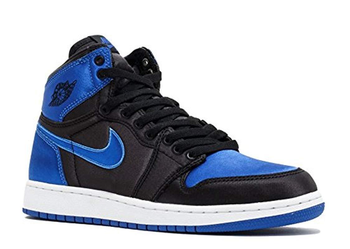 Nike Air Jordan 1 Retro Hi Og Bg Ep (gs) 'royal Satin' in Blue for Men