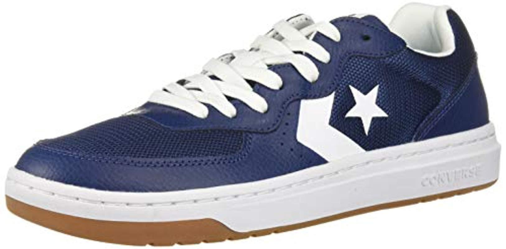 Converse Leather Unisex Rival Low Top