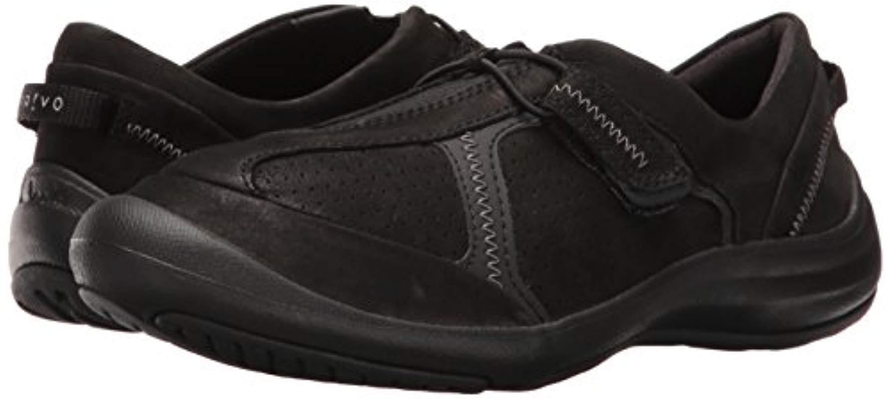 Clarks Asney Slipon Fashion Sneaker in Black Nubuck (Black)